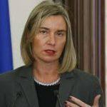 موغريني: الحل السياسي شرط تطبيع العلاقات مع دمشق