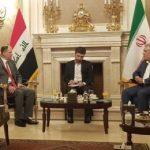في أول زيارة له ..وزير ثقافة العصائب في طهران