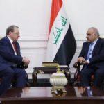عبد المهدي وبوغدانوف يؤكدان على تعزيز التعاون بين بغداد وموسكو