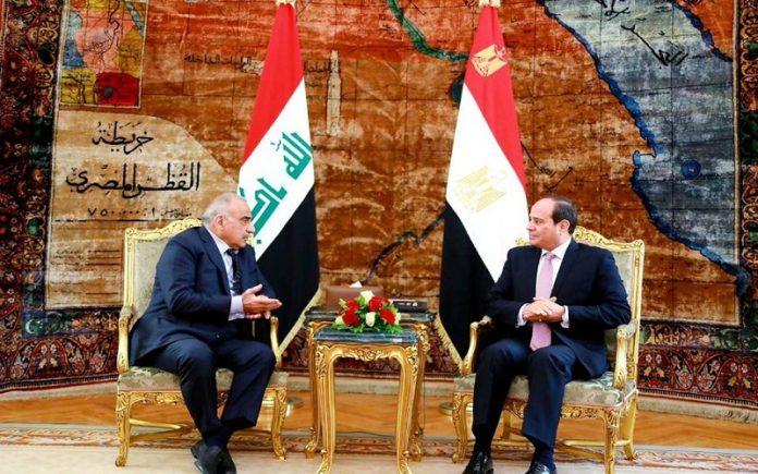 السيسي يلتقي عبد المهدي