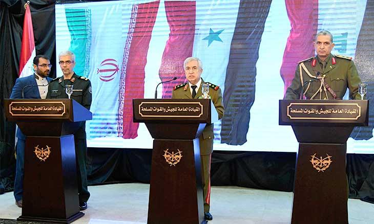 إيران تخطط وجيوش العراق وسوريا تنفذ