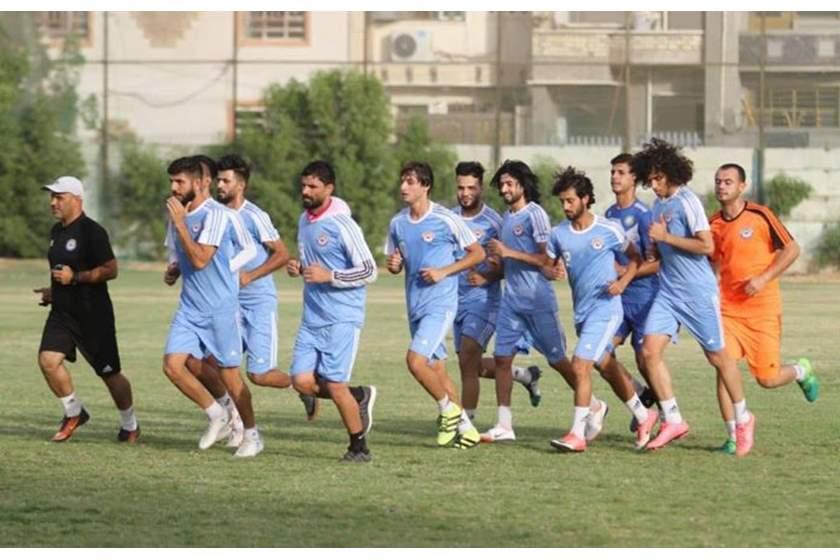 فريق الزوراء يستعد لمواجهة الوصل الإماراتي في كربلاء