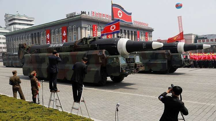 واشنطن:على كوريا الشمالية نزع اسلحتها النووية نهائيا