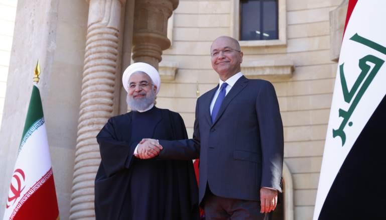 ابعاد زيارة الرئيس روحاني للعراق