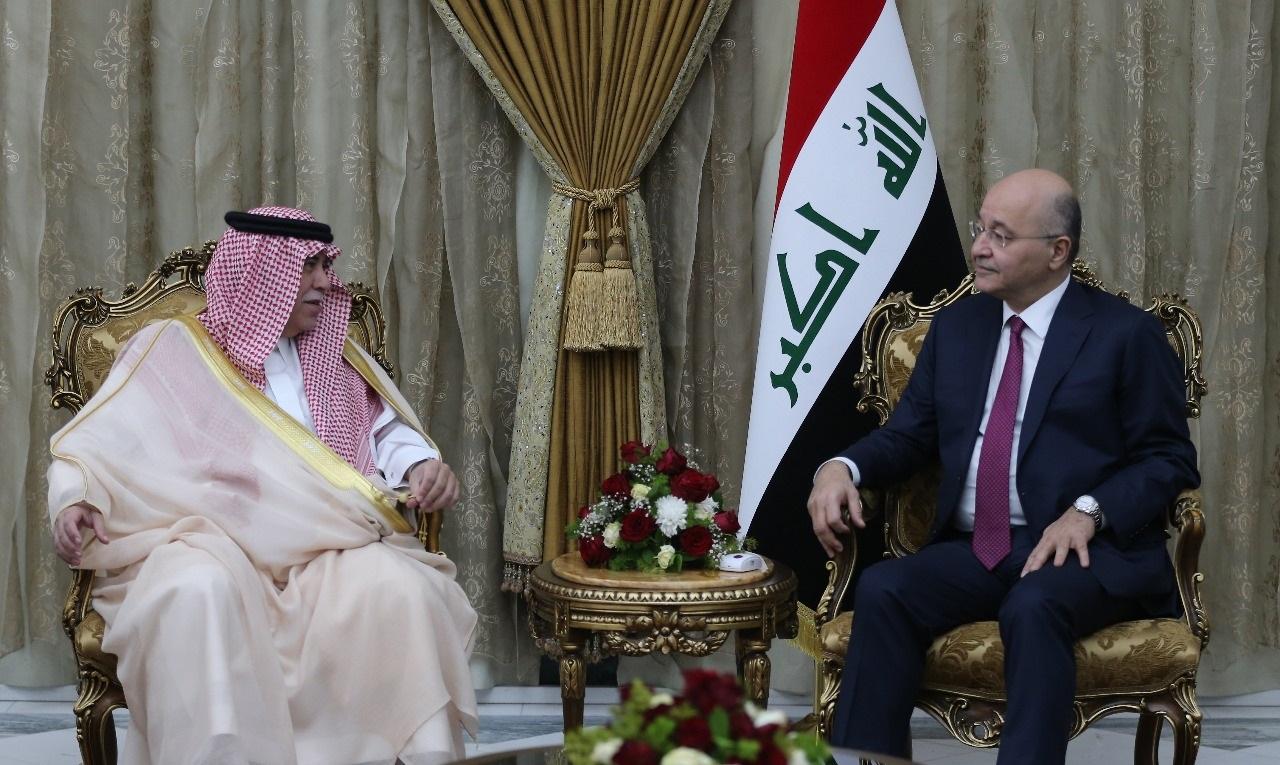 صالح:العراق حريص على تعزيز علاقاته مع العربية السعودية