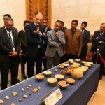 وزارة الثقافة تعلن عن استلامها 109 قطعة أثرية من البعثة السلوفاكية للتنقيب