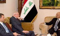 صالح وجيفري يؤكدان على تعزيز العلاقات بين بغداد وواشنطن