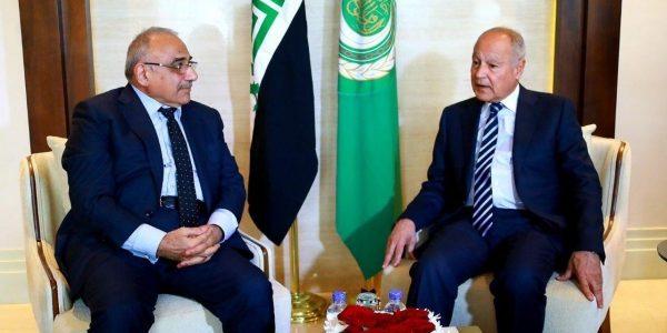 أبو الغيط  يدعو العراق لتعزيز وحدته وأمن سيادته