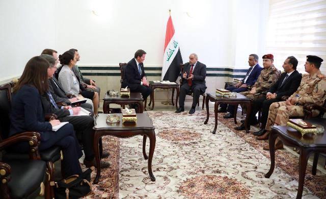 عبد المهدي لوفد أمريكي: العراق بحاجة لقواتكم