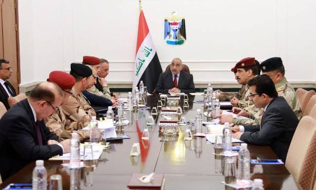 مجلس الأمن الوطني يبحث تقييم الوضع الأمني على الحدود السورية وسنجار