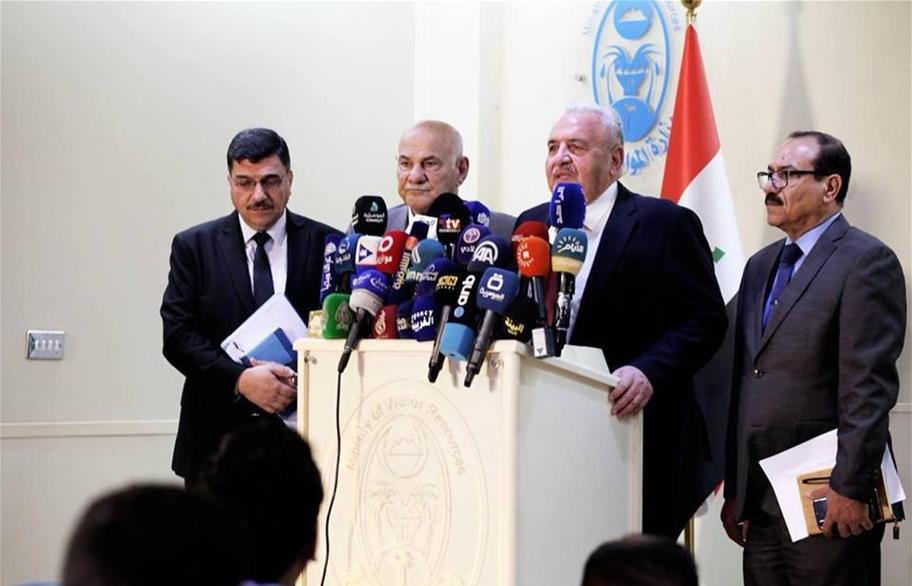 وزير الموارد المائية: لايوجد خطر على بغداد والمحافظات من السيول