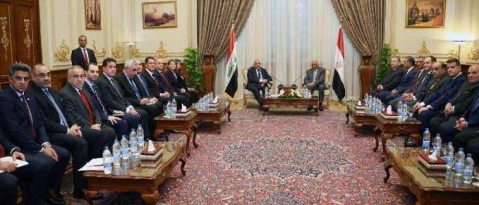 عبد المهدي يدعو إلى تأسيس شركات مشتركة بين العراق ومصر