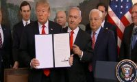 """أبو الغيط: قرار ترامب بضم الجولان السورية لإسرائيل """"باطل"""""""