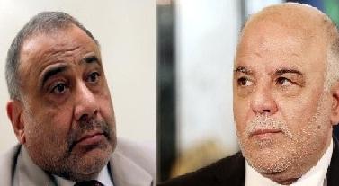 """العبادي """"متخوف من تنازلات عبد المهدي على حساب وحدة الوطن"""""""