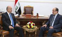 صالح يلتقي رئيس الدولة العميقة نوري المالكي