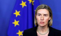 موغيريني:الاتحاد الأوروبي لن يعترف بسيادة إسرائيل على الجولان السورية