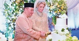"""زفاف أسطوري لولي العهد الماليزي على """"حسناء سويدية"""""""