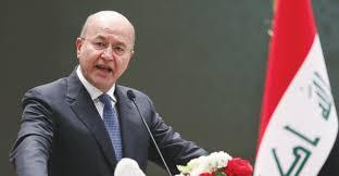 صالح يؤكد على بناء عراق ديمقراطي موحد