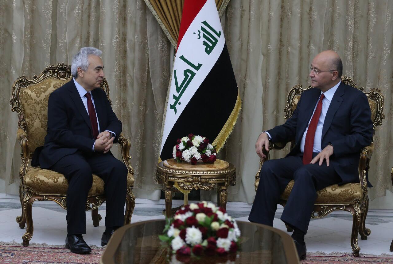 صالح: العراق بحاجة إلى تحسين منظومته الكهربائية
