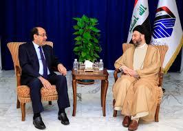 المالكي والحكيم: تحالفنا قوة لإيران