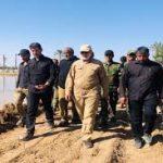 """""""المهندس"""" يشيد بدور الحشد في إنقاذ الأراضي الزراعية الإيرانية من السيول"""
