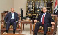 عبد المهدي يقدم ايجازا لصالح حول زيارته للسعودية