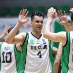 النفط بطلا لكرة السلة الممتاز للمرة الثالثة على التوالي