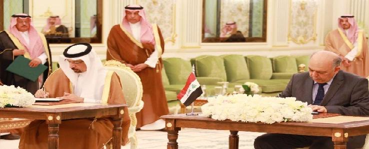 العراق والسعودية يؤكدان على تعزيز العلاقات بينهما في كافة المجالات