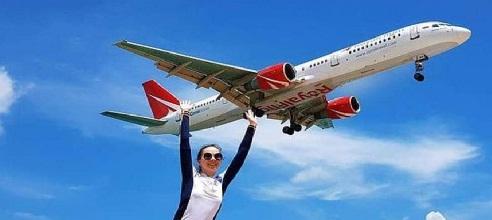 خطورة إلتقاط الصور بالقرب من مطار جزيرة بوكيت