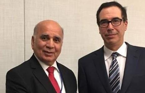 وزير الخزانة الأمريكي لوزير المالية العراقي:التزموا بالعقوبات المفروضة على إيران