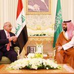 عبد المهدي يلتقي ولي العهد السعودي
