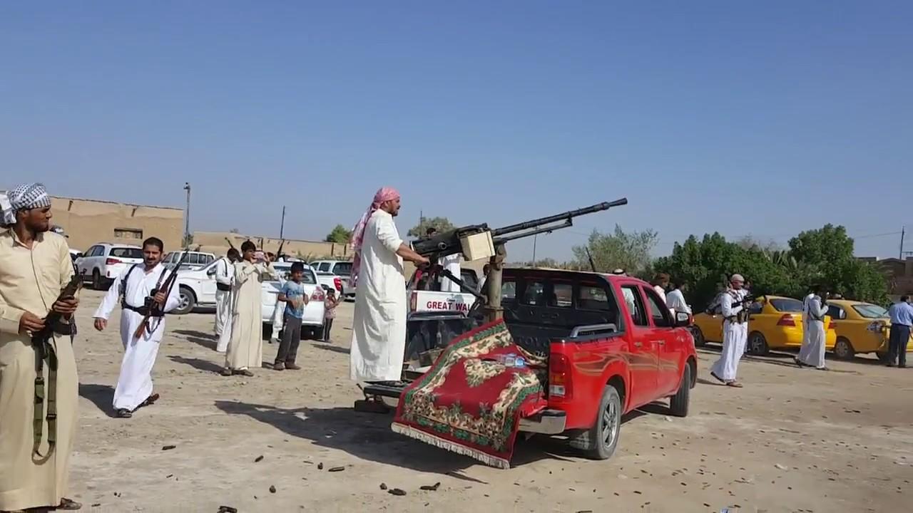 أمام تسلح الأفراد وبعض العشائر تكون الدولة هي منزوعة السلاح