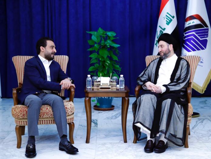 الحكيم للحلبوسي:التهديد الأمريكي لإيران يضر بالمنطقة