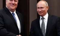 بوتين وبومبيو يؤكدان على تعزيز العلاقات بين موسكو وواشنطن