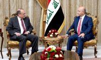 صالح وبلينغسلي يؤكدان على تعزيز العلاقات بين بغداد وواشنطن