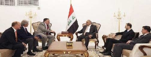 """عبد المهدي لسفراء بريطانيا والمانيا وفرنسا:علاقاتنا مع إيران """"مصيرية""""!"""