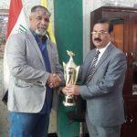 كأس بطولة العراق بكرة الطاولة من نصيب نادي السكك