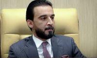 """فضيحة برلمانية وانبطاح """"حلبوسي"""" غير مسبوق امام الحكيم"""