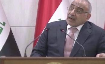 """عبد المهدي: لايوجد فساد في العراق ومن يملك الدليل """"يقدمه""""!!"""