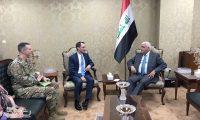 هود يطمأن الفياض بعدم استخدام الأراضي العراقية ضد إيران