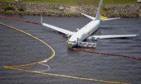 طائرة روسية تنزلق.. ولا إصابات