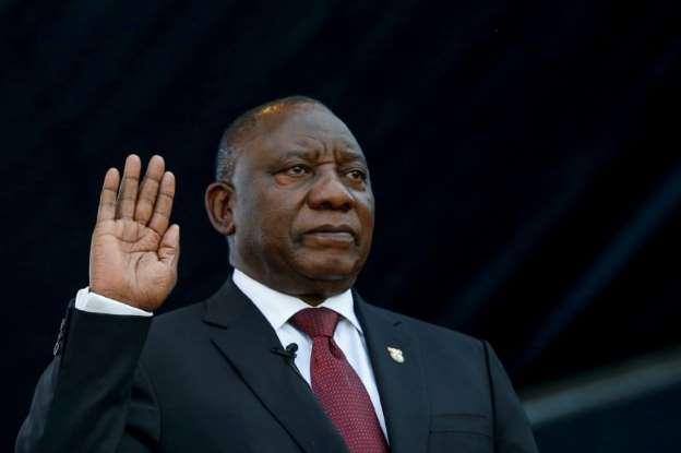 رامافوزا رئيسا لجنوب إفريقيا