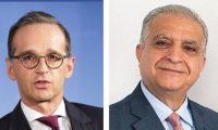 الحكيم ونظيره الألماني يبحثان الأزمة الإيرانية الأمريكية