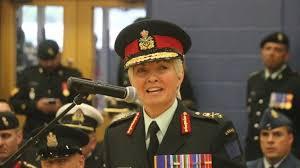 الجنرال جيني كارينيان قائدة بعثة الناتو في العراق