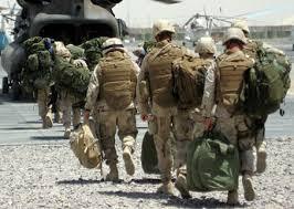 العقيد ووكر ينفي وجود إجلاء للقوات الأمريكية في قاعدة بلد الجوية