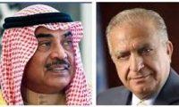 وزير الخارجية العراقي ونظيره الكويتي يبحثان هاتفيا أوضاع المنطقة