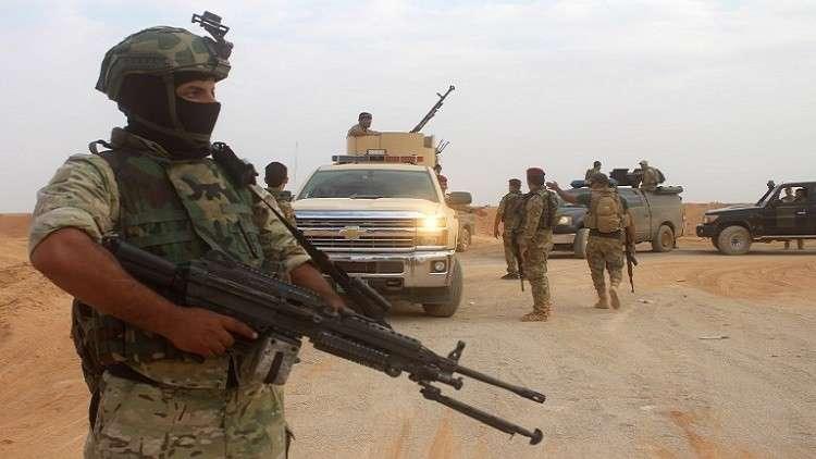 القوات العراقية تنتشر لمسافة 15كم تجاه القواعد الأمريكية منعا لإستهدافها من قبل المليشيات