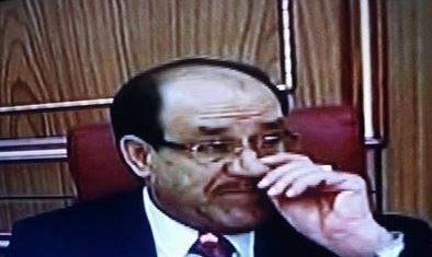 """نصيف:المالكي""""رمز جهادي""""لايجوز الإساءة له!"""