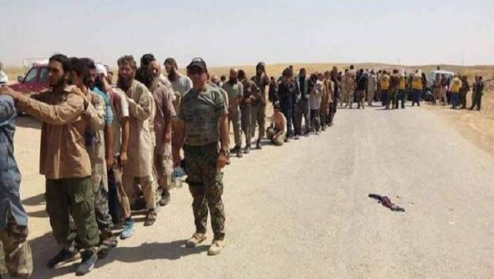 اختفاء 50 داعشيا عراقيا