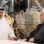 روحاني وتميم يؤكدان على تعزيز العلاقات بين طهران والدوحة
